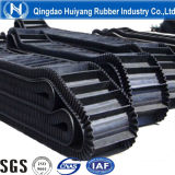 Gewölbtes Sidewall Rubber Conveyor Belt (Transport 0-90degree)