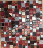 壁の装飾のための現代様式のガラスおよび大理石のモザイク・タイル