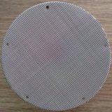Tela aglomerada dos discos do filtro do pó de metal