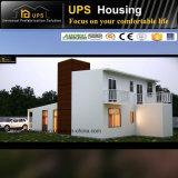 Grüner modularer doppelter Fußboden-vorfabriziertes Stahlzwischenlage-Panel-Haus