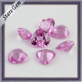 Fabbrica Price Synthetic Gemstone Corundum 5# Ruby per Jewelry