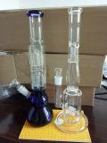Borosilicat-Glas-Pfeife-Trinkwasserbrunnen für das trockene Kraut-Rauchen