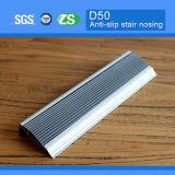 Gebogen Flexibele Nosing Van uitstekende kwaliteit van de Trede van het Aluminium