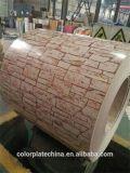 Double acier de la brique rouge PPGI de couleurs de qualité dans les bobines