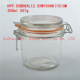 正方形のガラス瓶のシール・ガラスの瓶のガラス食糧瓶600ml