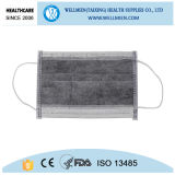 Carbonio attivo mascherina di polvere del filtrante del carbonio della maschera di protezione delle 4 pieghe
