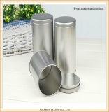 Späteste Entwurfs-Form-leerer Aluminiumdosen-dekorativer runder Bildschirmanzeige-Tee-Zinn-Kasten