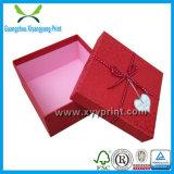 Venta al por mayor promocional por encargo de la caja de cartón del papel popular