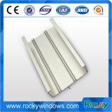 Profils en aluminium en gros rocheux de guichet de glissement de service professionnel