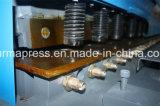 2016 QC11y 10mm 12mm 16mm Metallblatt-hydraulischer scherender Maschinen-Preis, elektrisches Guillotine-Scheren