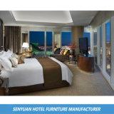 가죽에 의하여 덮개를 씌우는 침대 머리 호텔 현대 가구 (SY-B175)
