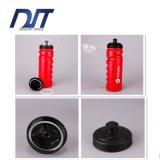 пластмасса 750ml резвится бутылка воды Bike HDPE бутылки воды красная