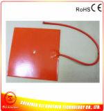 24V 350W 250*250*1.5mm Verwarmer van de Printer van het Silicone de Rubber 3D