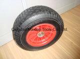 6.50-8 공장 편평한 자유로운 PU 거품 바퀴