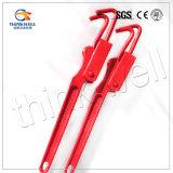 Mini type modifiant peint rouge cahier de chargement