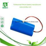 18650 bateria do Li-íon de 2s1p 7.4V 2200mAh para cobertor Heated