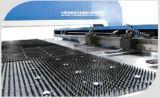 Máquina de perfuração hidráulica da torreta do CNC