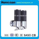distributeur en plastique de savon liquide de Mur-Mountained de l'ABS 500ml*2