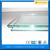 安い価格の建物のカーテン・ウォールのための最上質の緩和されたフロートガラス