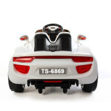 赤いカラー4車輪の赤ん坊のおもちゃの電気自動車
