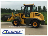Hydraulic Pallet Forks를 가진 다기능 Mini Dumper Tractor Front End Wheel Loader