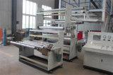 La coextrusión de múltiples capas Acarrea-apagado la máquina que sopla cambiante de la película del rodillo auto rotatorio