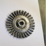 Balai de roue de fil de torsion d'acier du carbone