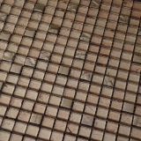 Disegno di vetro delle mattonelle di mosaico dell'oro di alta qualità per la decorazione della parete