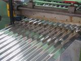 Tôles d'acier ondulées galvanisées couvrant des feuilles