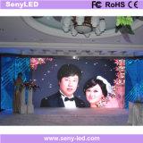 schermo di visualizzazione di pubblicità del LED della fase di 3mm HD video per il salone di cerimonia nuziale
