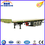 3 Aanhangwagen van de Container van de Nuttige lading van de as 40t Flatbed voor 1*40FT de Container van de Container 1*20FT of Container 2*20FT