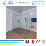 4mm 1/6 glace Tempered durcie par fer inférieur clair Inférieur-e de sûreté pour la porte de douche