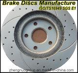 Ts16949証明書が付いている競争価格および高品質ブレーキディスクか回転子