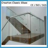 Sicherheitsglas des 10-12mm Balustrade-Glas-/