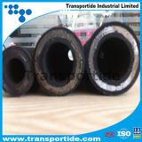 Boyaux hydrauliques en caoutchouc tressés de fil à haute pression hydraulique du boyau R13/