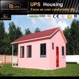 Windowsおよびドアが付いているSABSによって証明される低価格プレハブキットの家