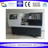 Máquina horizontal Cknc6140 del torno de la cama plana del CNC de 2 ejes