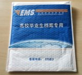 Poly sac de empaquetage exprès métallique coloré