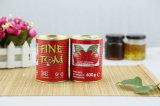 Salsa di pomodori del purè del pomodoro di colore rosso con il nuovo raccolto 2016