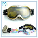 Le surf sur neige de faible luminosité de miroir de créateur folâtre des lunettes de masques