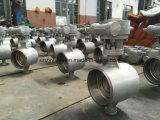Клапан-бабочка турбины Dn200 Pn25 сваренная прикладом