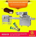 Machine en plastique automatique de cachetage de sac d'esquimau de flux de bonne qualité