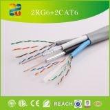 중국 Selling High Quality Low Price 2RG6+2CAT6 Cable