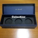 Коробка подарка упаковки бумаги свечки высокого качества Rectanagle голубая