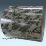 El color del camuflaje cubierto prepintó la bobina de acero galvanizada