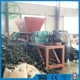 固体プラスチックゴムまたは無駄の鋼鉄かタイヤまたは二軸シャフトまたは産業木製のシュレッダー機械