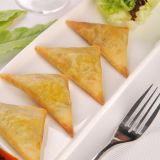 Curry 12.5g/Piece 100% Samosas végétal fabriqué à la main