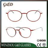 Het recentste Optische Frame van het Oogglas Eyewear van Ultem van het Ontwerp Plastic met Slank Roestvrij staal 3307