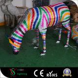 La decoración del Año Nuevo enciende la cebra del LED 3D