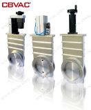 Válvula de porta pneumática com a válvula da flange do ANSI (alumínio)/porta do vácuo/válvula de porta